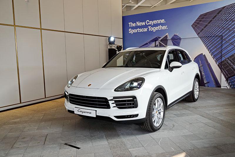 Porsche Cayenne, Porsche Cayenne S