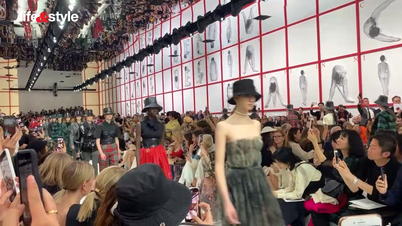 巴黎時裝周2019 秋冬 : Dior 漁夫帽 襯晚裝 女性主義新定義
