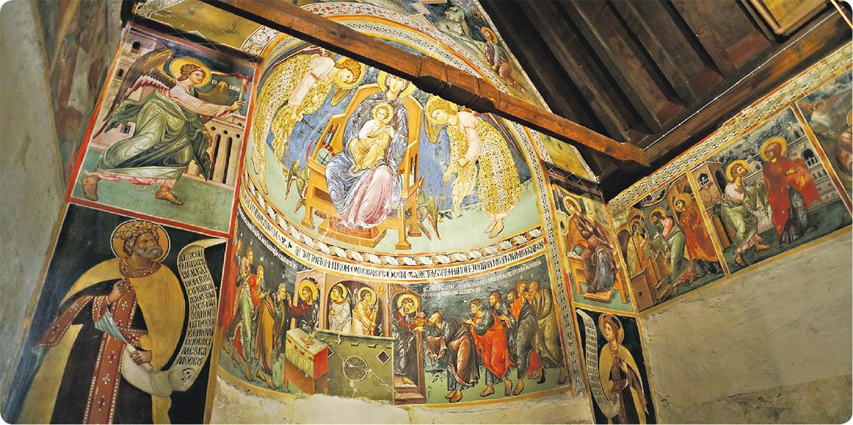 【地中海島國旅遊】塞浦路斯古蹟教堂 近賞500年歷史的世界文化遺產彩繪壁畫