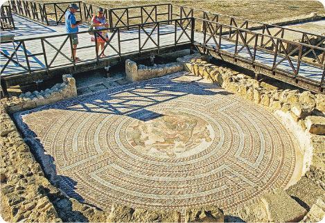塞浦路斯共和國 Republic of Cyprus 地中海 教堂 Kalopanayiotis 世界文化遺產 帕福斯 旅遊 彩繪壁畫