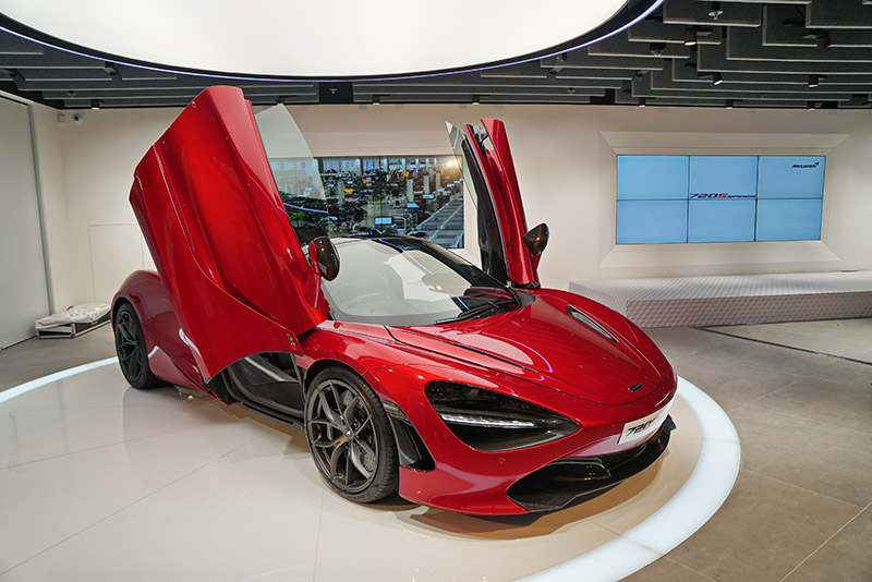 麥拿倫,McLaren,720S Spider,跑車,