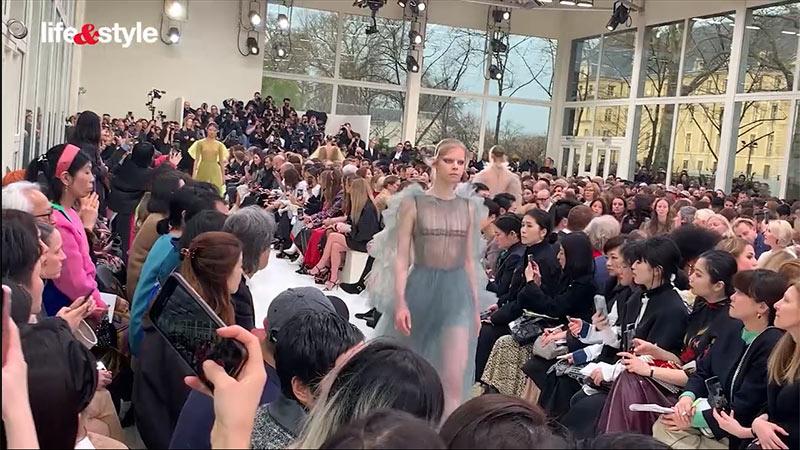 fw19, parisfashionweek, pfw, Valentino, 巴黎時裝周2019, 巴黎米蘭,