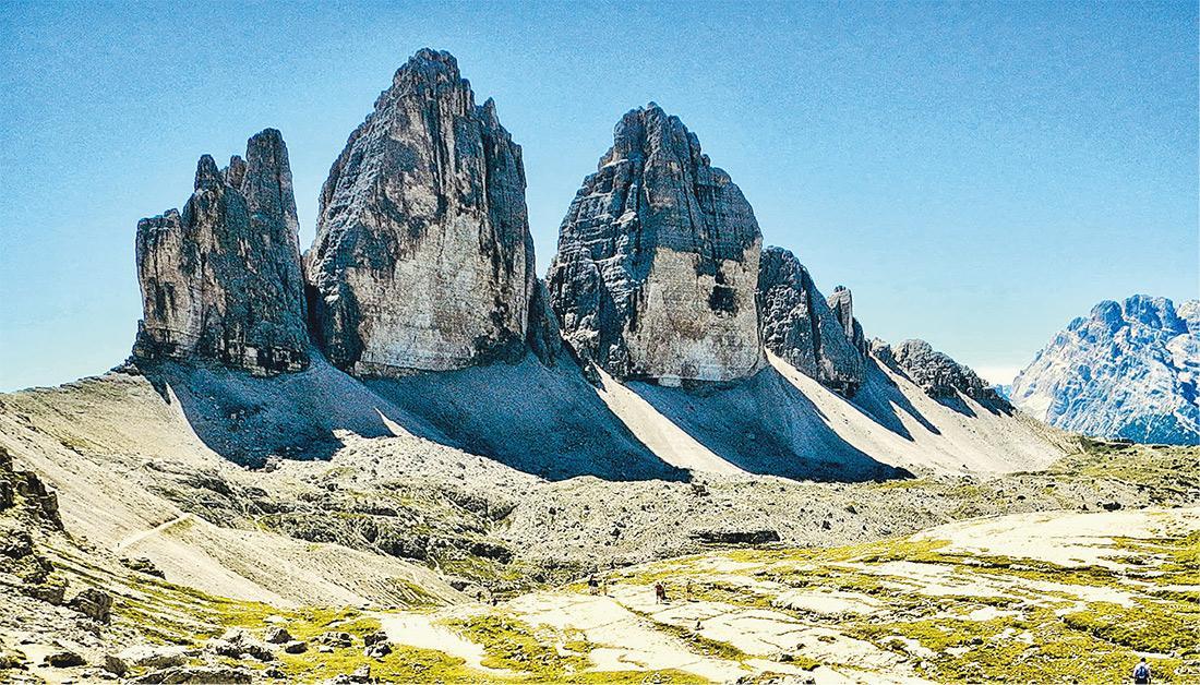 【意大利旅遊】阿爾卑斯山「上帝之手」 意大利朝聖三尖峰