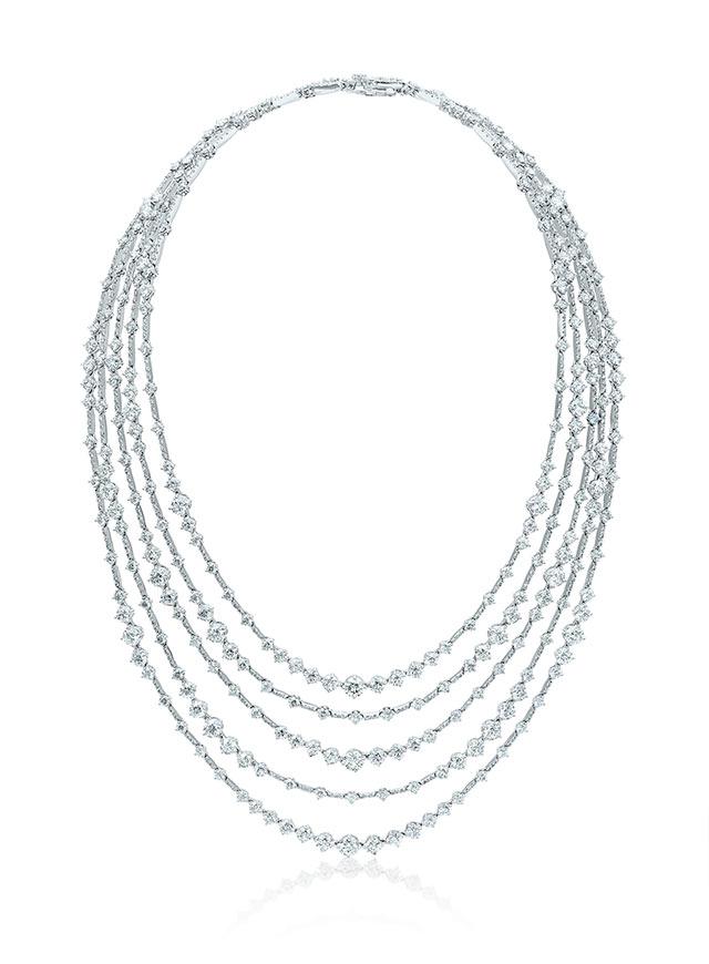 Arpeggia高級珠寶鑽石項鏈