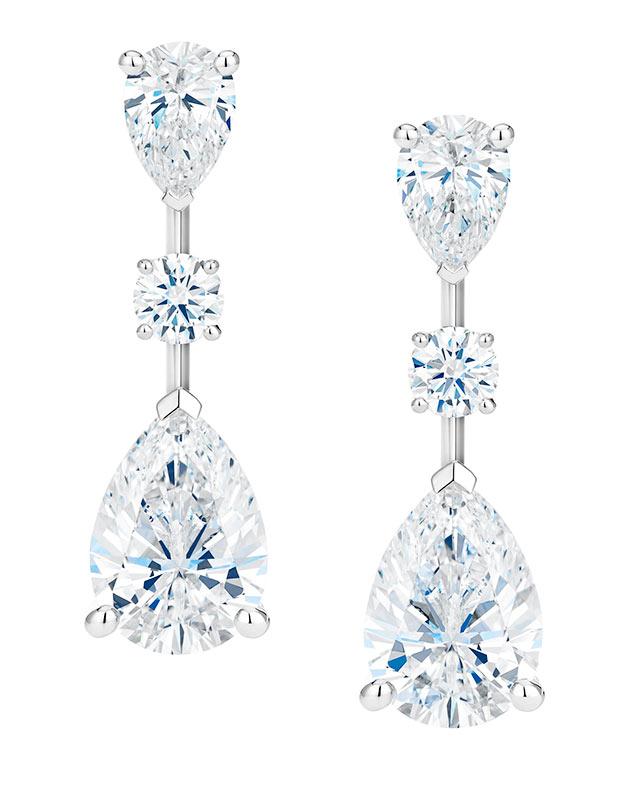 Drops of Light 高級珠寶鑽石耳環