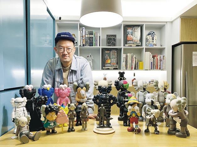 珍貴收藏﹕情迷KAWS 17年 蒐購作品只藏不賣
