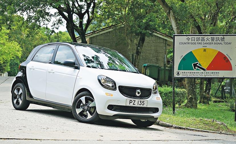 smart forfour electric drive 平民化電動車 入門價促進零廢排