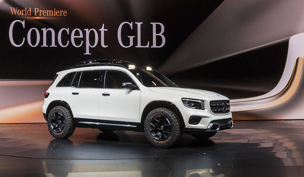 Mercedes-Benz 概念七座四驅車 Concept GLB 隨時投產
