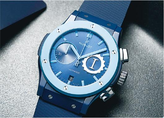 Watch News:Hublot 海天一色限量腕表