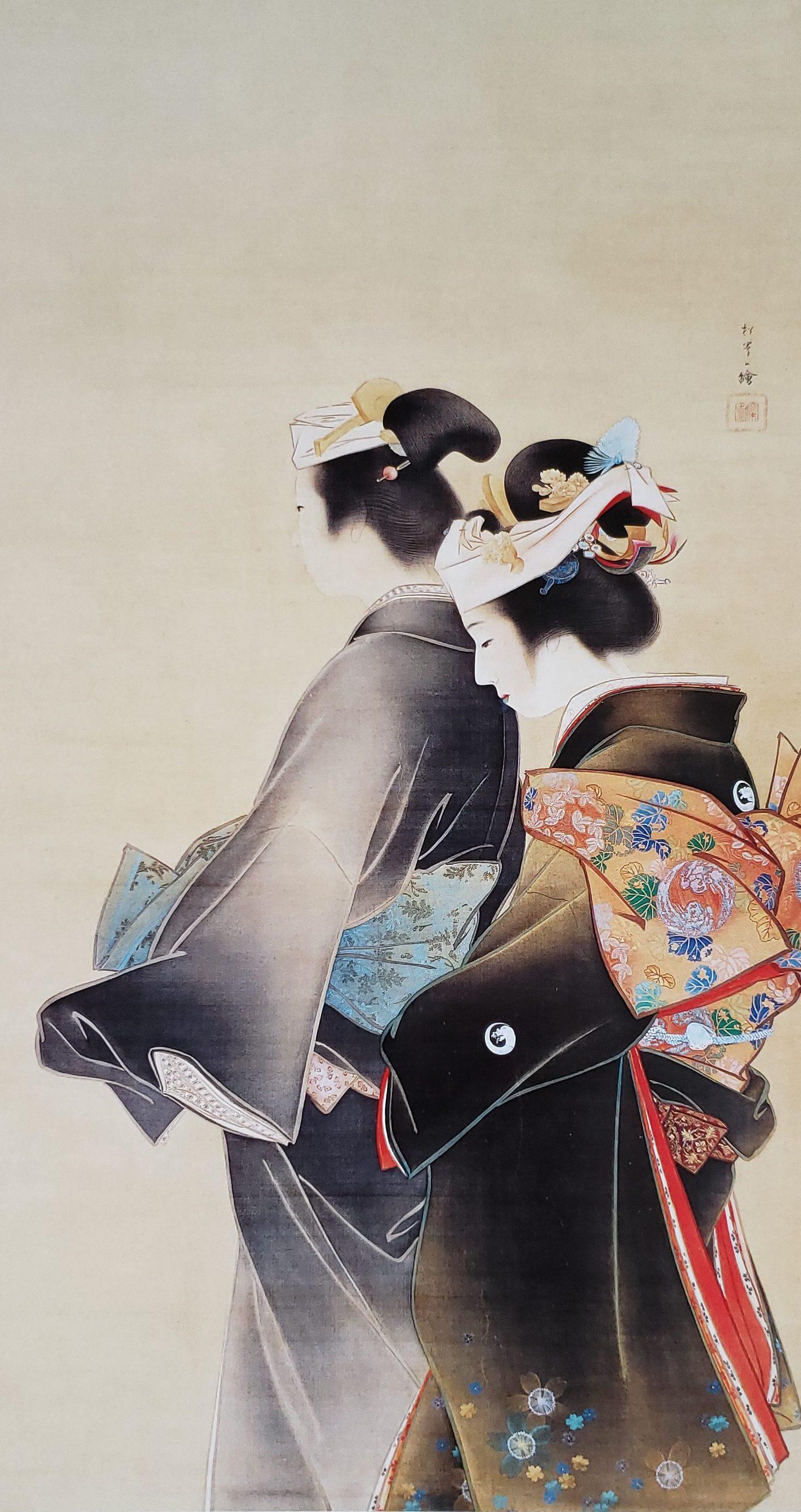 【Karen 珠寶飾説話】初見岩繪 京都美術館 上村松園日本美人畫