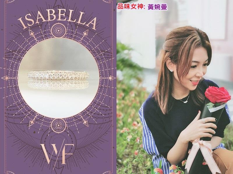 閃耀珠寶致敬8位魅力女神   陳樂榣以親自設計戒指散發正能量