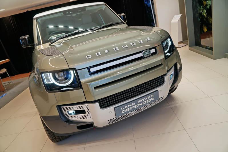驚天動地大革新 越野王Land Rover Defender今日首展