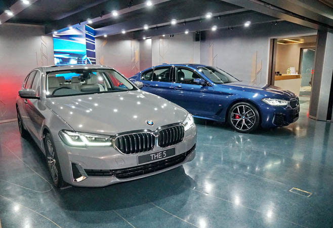 BMW, THE new 5,